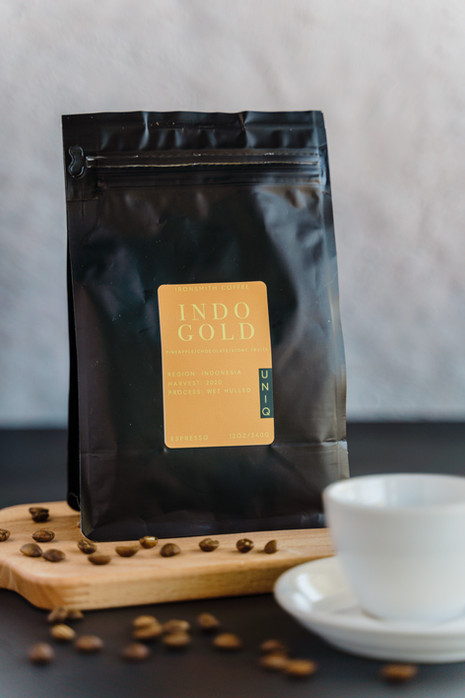 coffee product photography