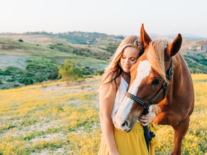 Melody & Maybelline   Fallbrook Horse and Rider Session