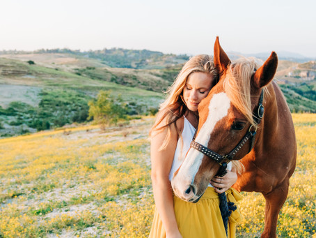 Melody & Maybelline | Fallbrook Horse and Rider Session
