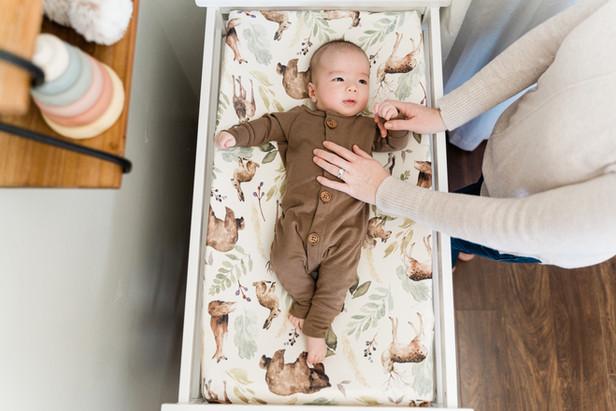 Modeled baby Product Photography