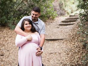 Heather & Jesse   Romantic Maternity Session   Oak Canyon Nature Center