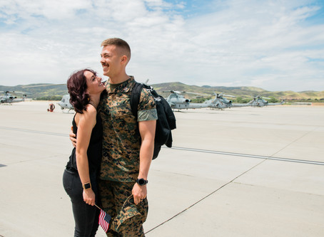 Military Homecoming | Camp Pendleton