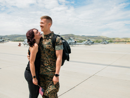 Military Homecoming | Camp Pendleton