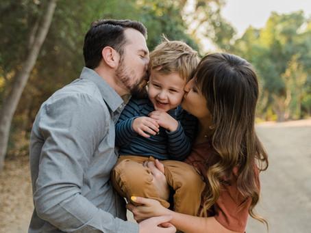 Guajomie Park Family Portraits | Oceanside Family Photos