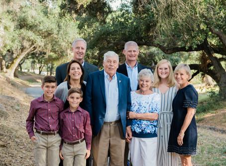 Three Generations | Family Portraits | Live Oak Park, Fallbrook