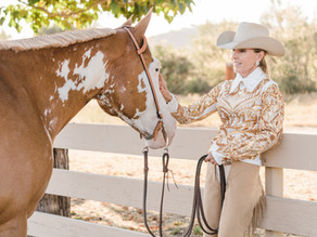 Paula and Blondie | Horse and Rider Photos in Poway