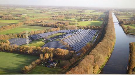 Zonnepark Armhoede in Lochem in bedrijf