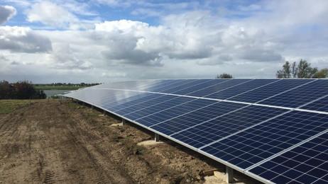 22.000 zonnepanelen op afvalstortplaats Transberg