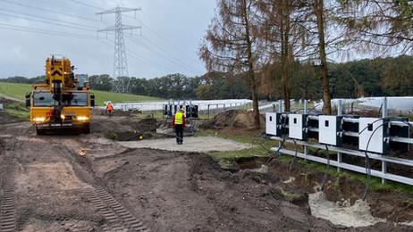 Start bouw Zonnepark Armhoede in Lochem