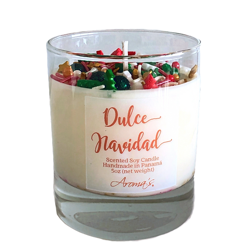 Dulce Navidad Soy Candle
