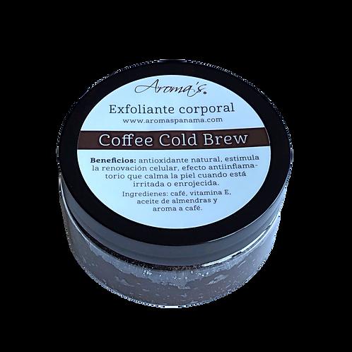 Body Scrub Coffee Cold Brew