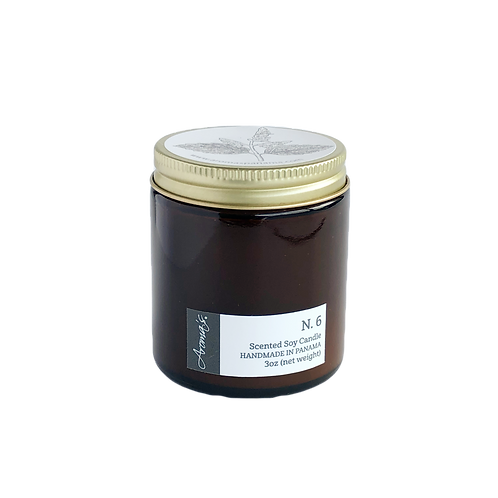 N.6 Soy Candle