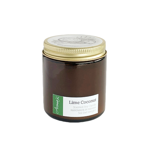Lime Coconut Soy Candle