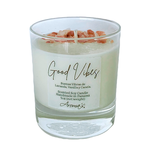 Good Vibes Soy Candle