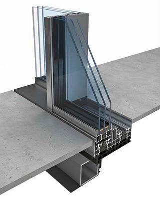 KELLER-STEEL HOUSE Minimal windows 4+