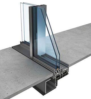 KELLER-STEEL HOUSE Minimal windows