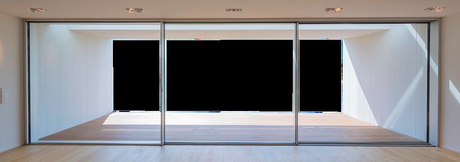 KELLER-STEEL HOUSE Minimal windows visuel