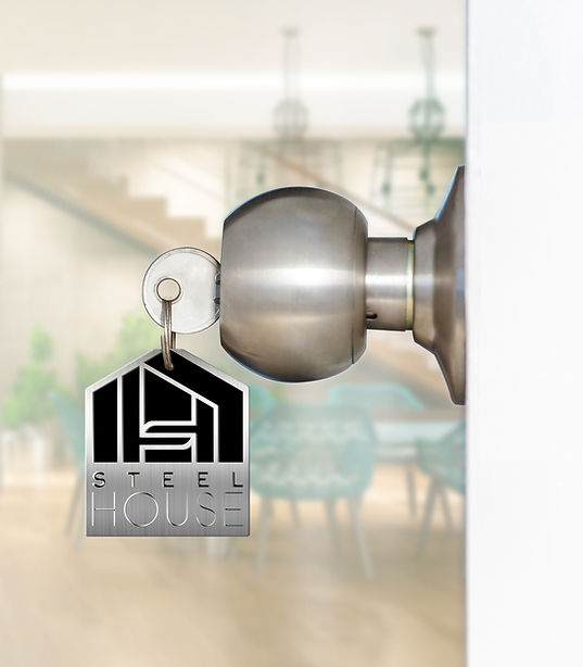 Porte Clé STEEL HOUSE