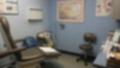 Rezendes Podiatry Clinics Exam Room
