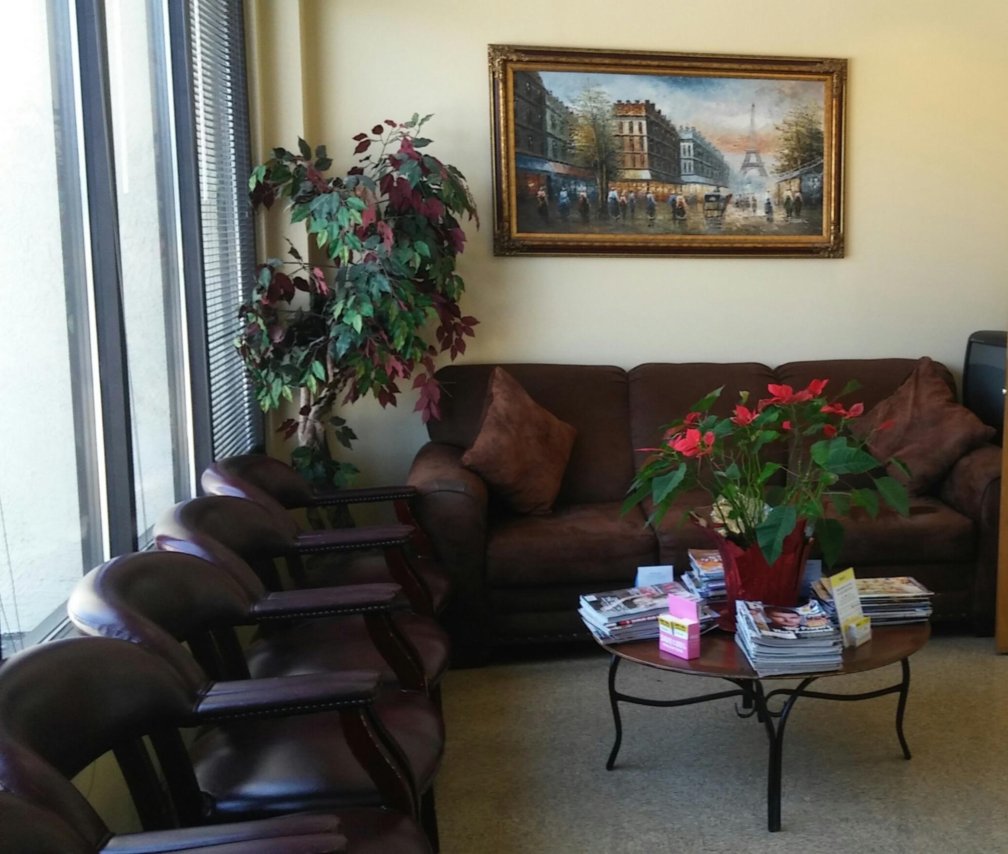 Podiatry Clinics Waiting Room