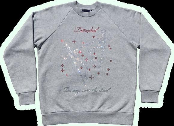 Dancing with the dead Rhinestone Sweatshirt