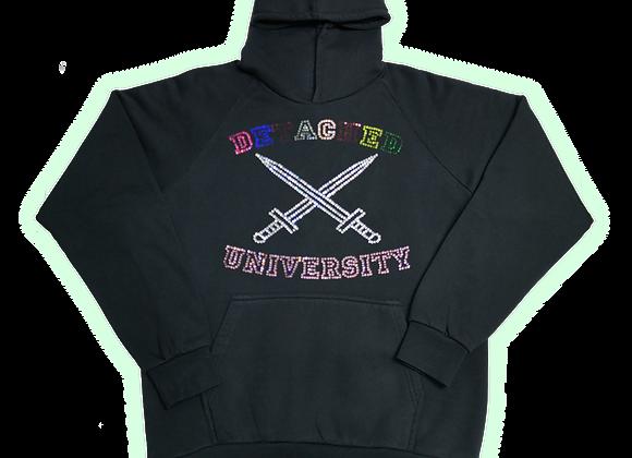 University Rhinestone Hoodie