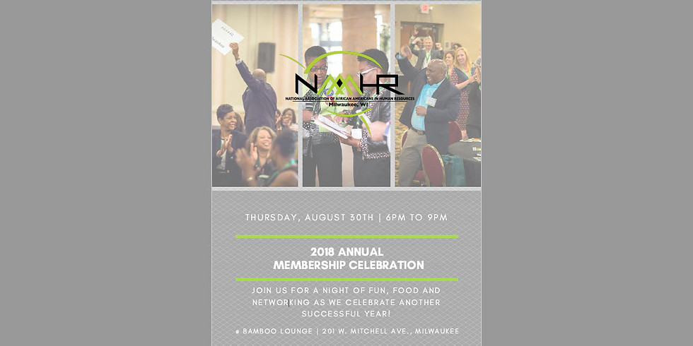 2018 Annual Membership Celebration
