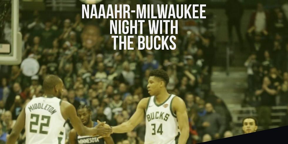 NAAAHR Night at the Milwaukee Bucks