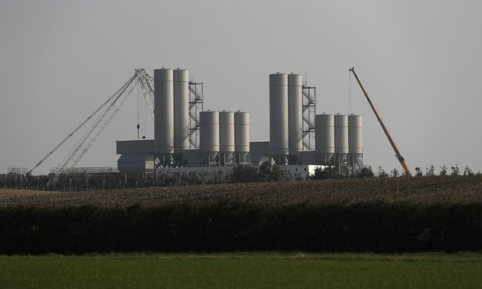 Photograph: Hinkley Point C. Photograph. Stefan Wermuth+Reuters.
