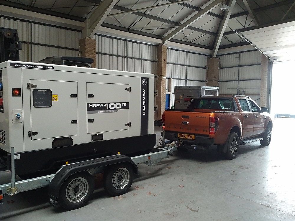 ingrams Ranger, towing generator