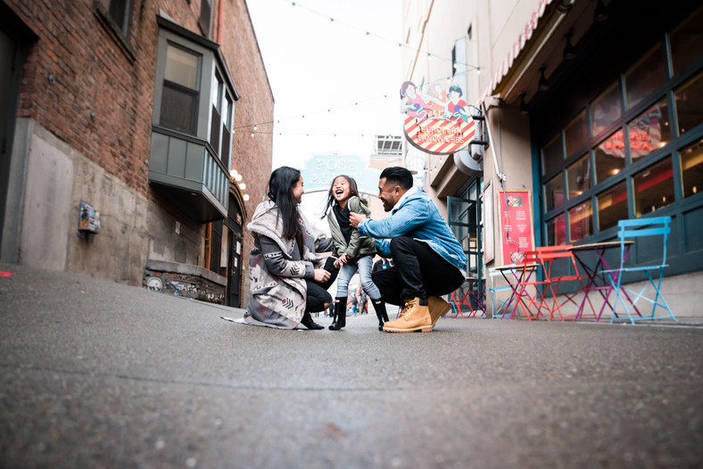 urban lifestyle family session | pike place market!