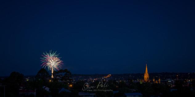 New Year Skyline