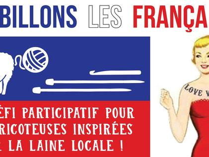 Six petites marques de laine régionales lancent un défi participatif aux tricoteuses françaises!