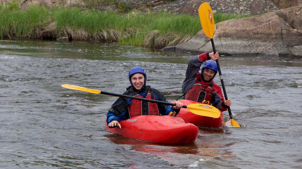 Beginner - Whitewater Kayaking Weekend (2 days)