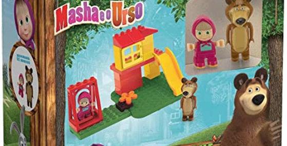 Brinquedo Masha e o Urso Parque Balanço, Monte Líbano, Multicor