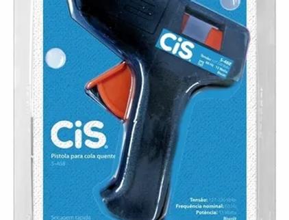 Pistola Aplicador Cola Quente S468 Pequeno Cis
