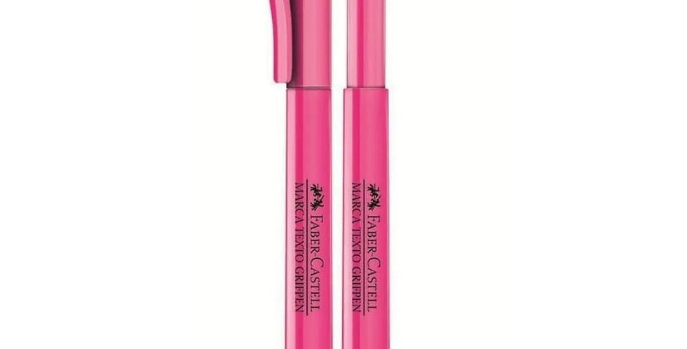 MARCA TEXTO GRIFPEN ROSA FABER-CASTELL