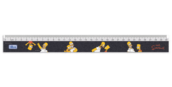 Régua 30cm Simpsons - Tilibra