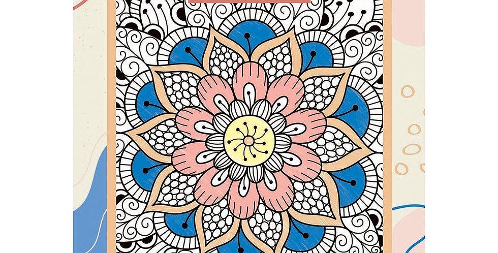 Bloco de Ilustrações Para Colorir, Jandaia, A4, 180 Gramas, 28 Folhas