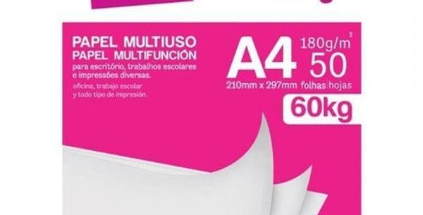 Papel Sulfite Multiuso Use Paper A4 180g 50 Folhas