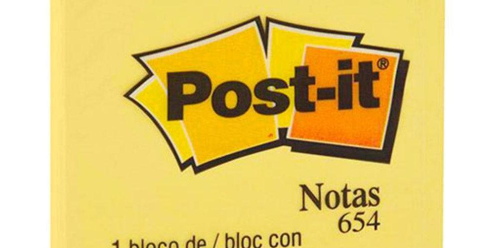 Bloco Post-it 3M 76x76mm 100 folhas