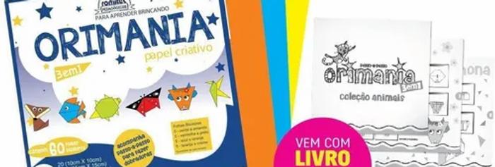 Bloco para Educacao Artistica Orimania Dupla Face 75G 60FLS.