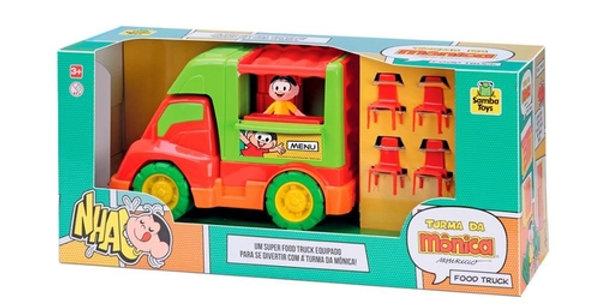 Carrinho de Brinquedo Food T. Mônica Samba Toys