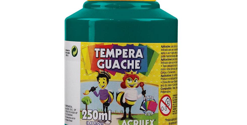Tinta Guache 250 Ml Verde Bandeira Acrilex