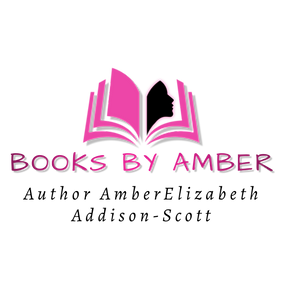 Books By Amber Logo - Made with PosterMy