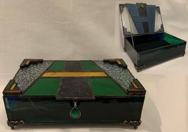 Art Deco Keepsake Box