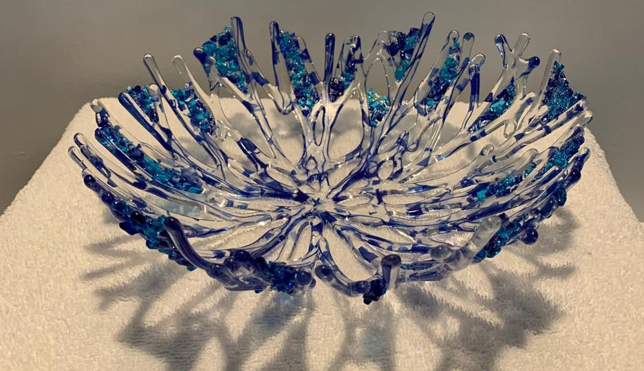 Blue Coral Bowl