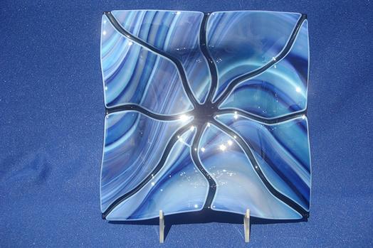 Fluted Bowl (Light Blue)