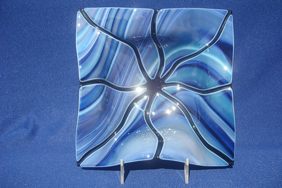 Fluted Bowl (Light Blue)