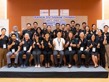 Welcome 12 fellows to the SEAOHUN Fellowship 2018!